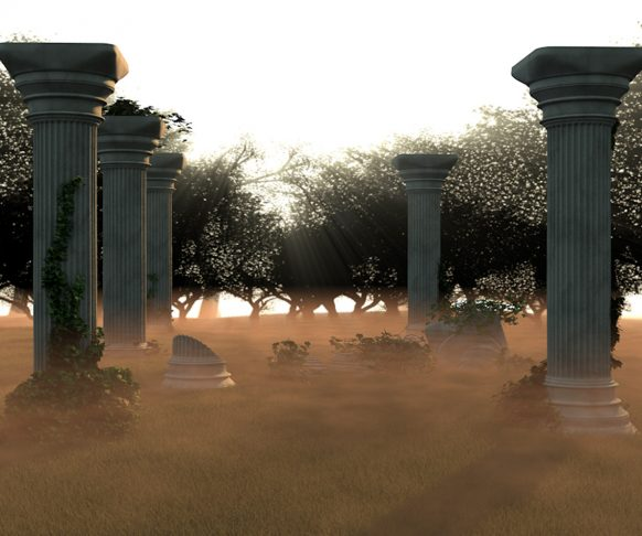 Cinema 4D Temple